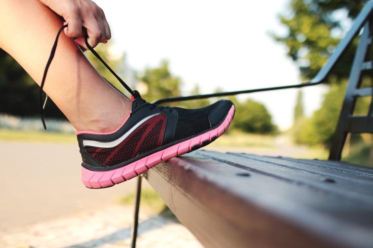 shoe on bench pexels-photo