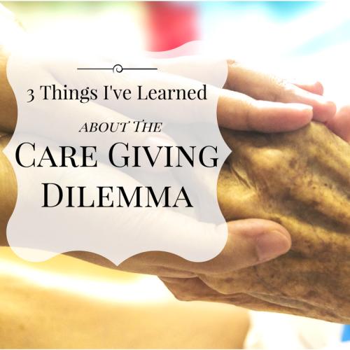 caregiving dilemma