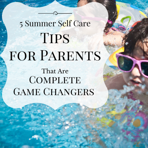 5 Summer Self Care tips
