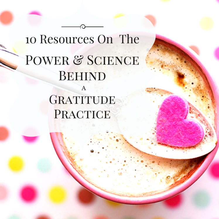 10 gratitude resources